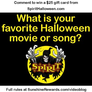spirit halloween scary double feature contest sunshine